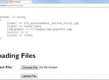 آپلود امن فایل با PHP